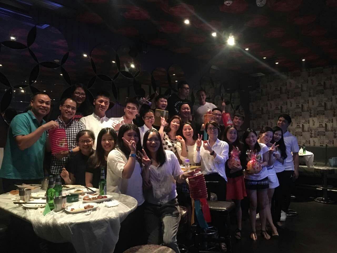 2016年中秋晚宴在深圳举行